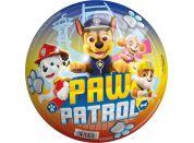 John Míč Paw Patrol 23cm barevný s nápisem Paw Patrol