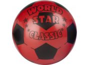 John Míč World Star 22 cm - Červená