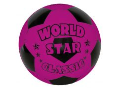 John Míč World Star 22 cm - Fialová