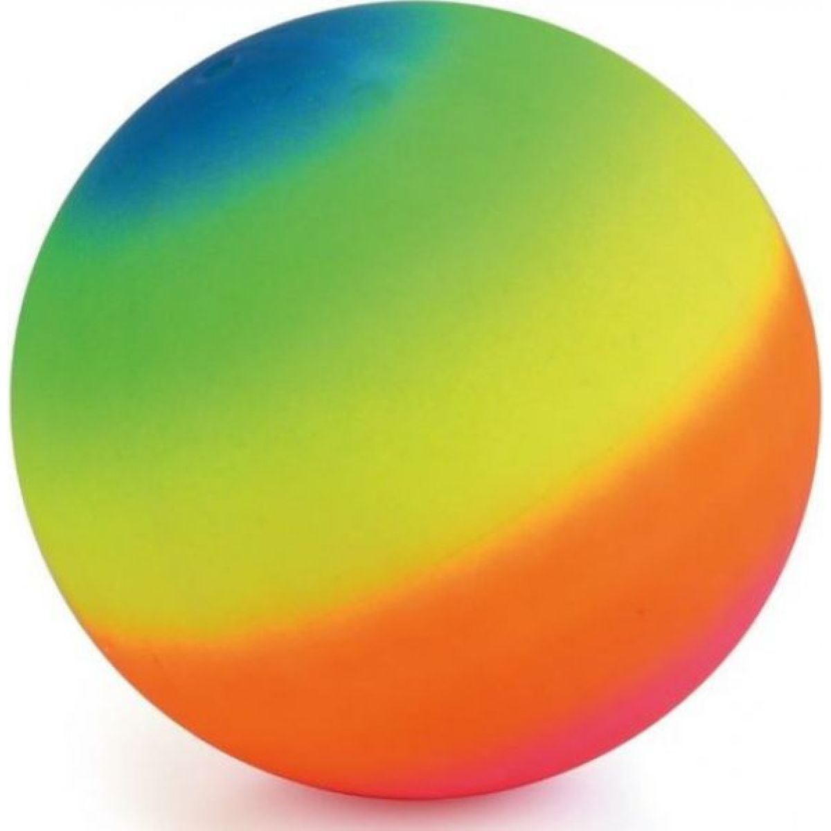 John Toys Duhový míč 20 cm barevný