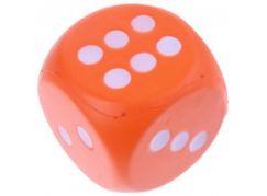 John toys Hrací kostky pěnové velké Oranžová