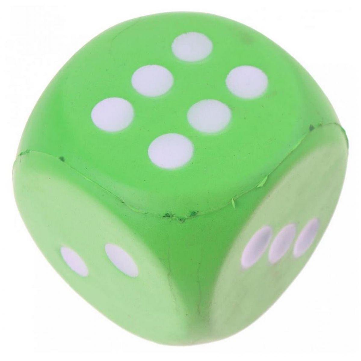 John toys Hrací kostky pěnové velké Zelená