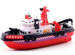 John Toys Loď záchranářská 30 cm