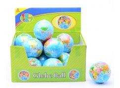 John toys Měkký míček zeměkoule 75 mm