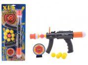 John toys Pistole na pěnové kuličky Černo-oranžová