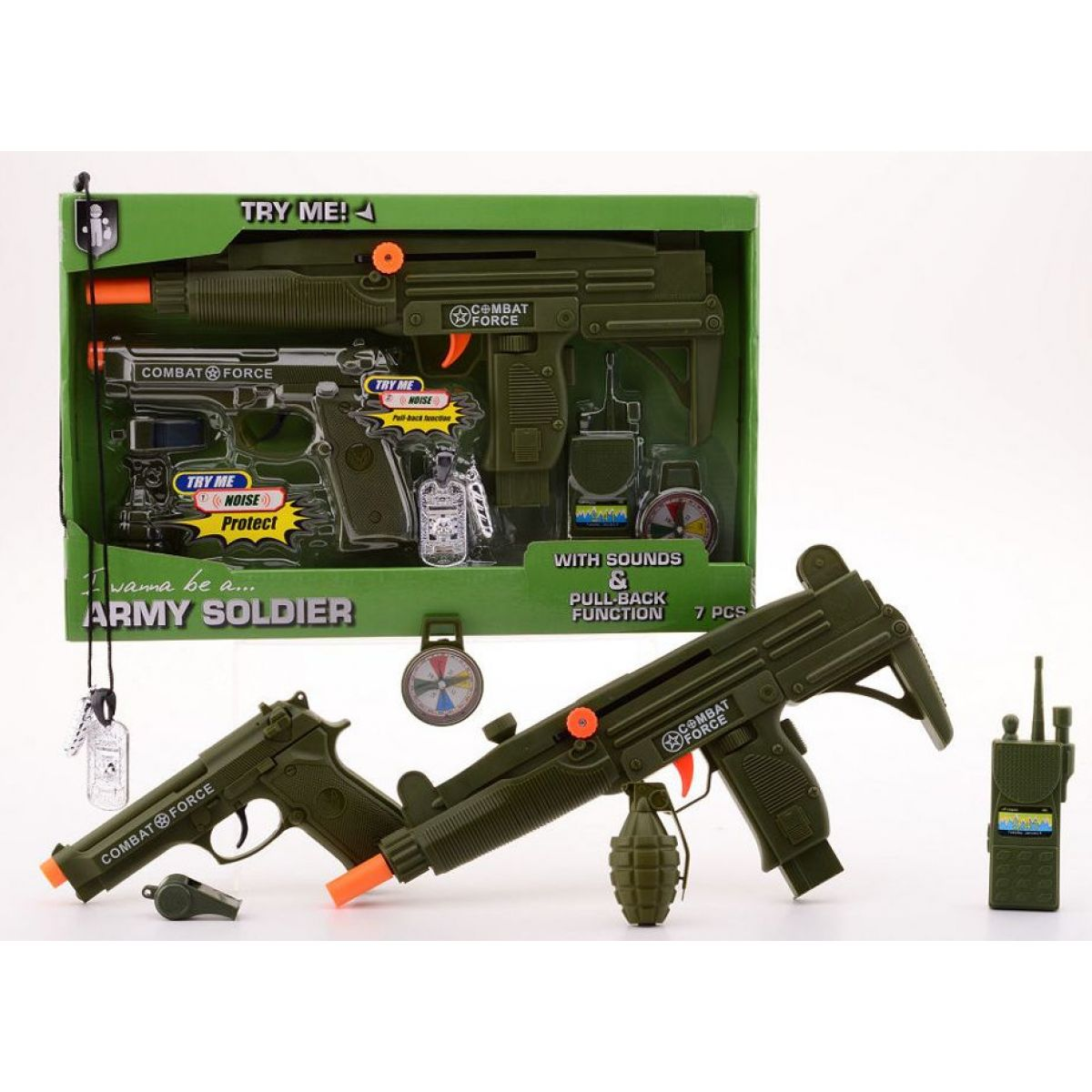 John toys Vojenská sada De luxe