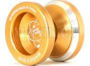 Jojo N8 - Dare to do 48mm hliník/kov s ložiskem - Zlatá