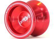 Jojo T5 - Overload 55mm hliník/kov s ložiskem - Červená