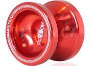 Jojo T6 - Rainbow 50mm hliník/kov s ložiskem - Červená
