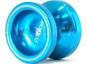 Jojo T6 - Rainbow 50mm hliník/kov s ložiskem - Modrá