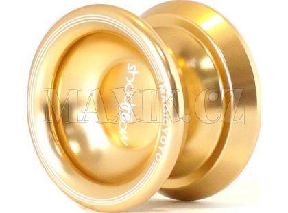 Jojo T8 - Magic shadow 57mm hliník/kov s ložiskem - Zlatá