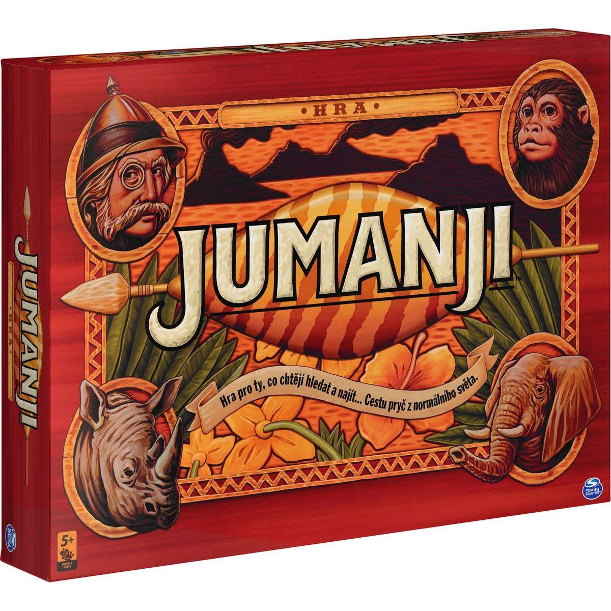 Jumanji společenská hra CZ