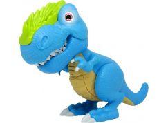 Junior Megasaur ohebný a kousací T-Rex -modrý