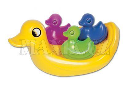 Kachní rodinka do vody