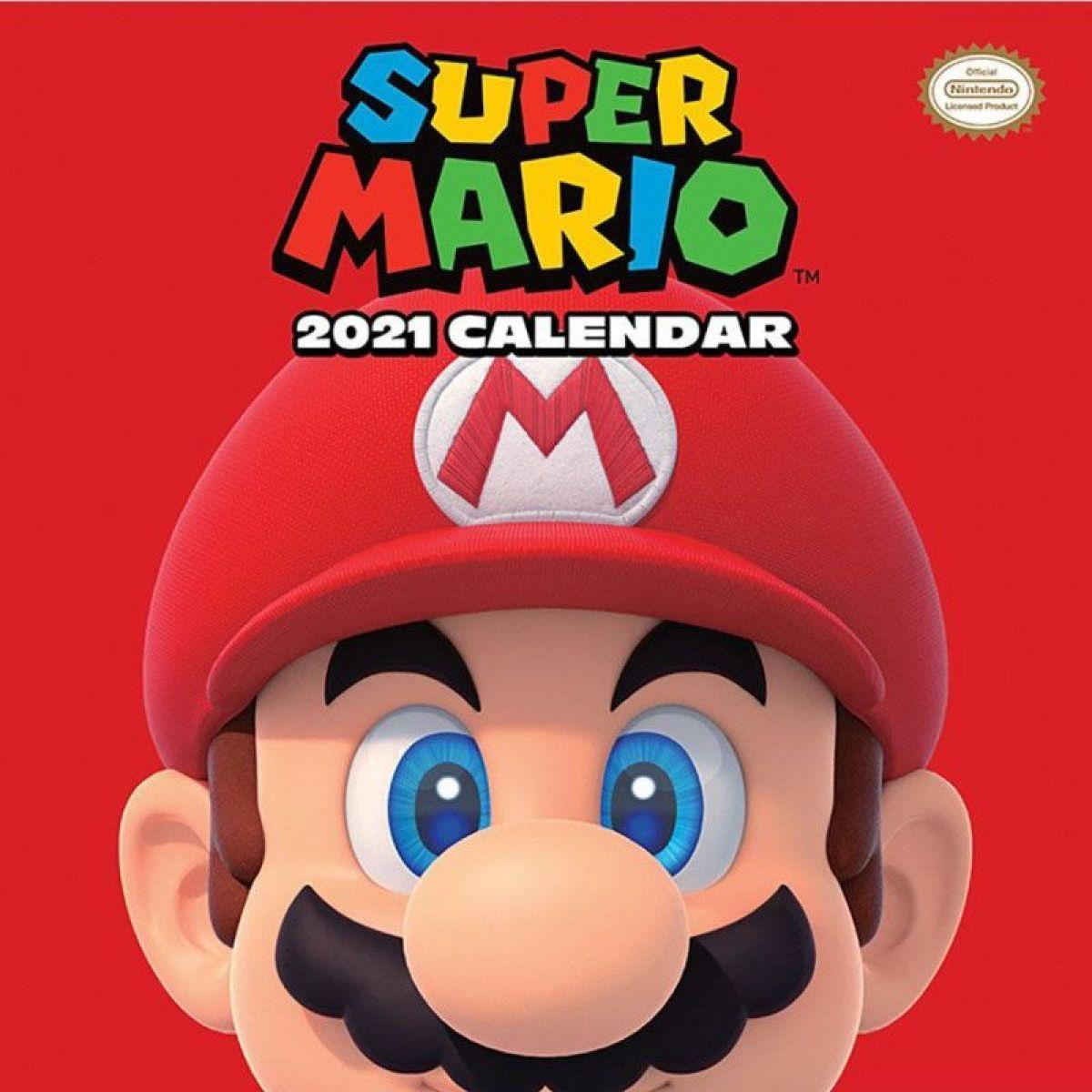 Kalendář Super Mario 2021
