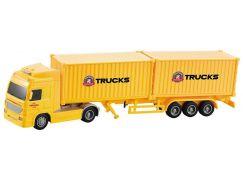 Kamion na setrvačník jeden kontejner