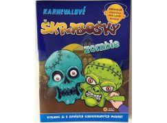 Karnevalové škrabošky - Zombie
