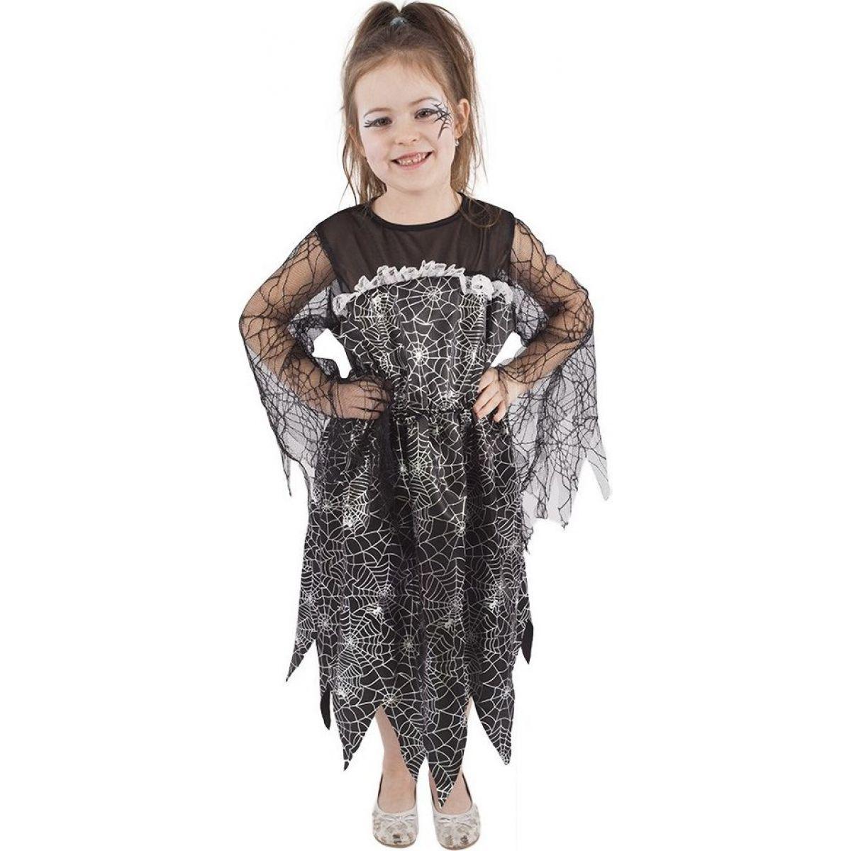Rappa Karnevalový kostým čarodějnice halloween vel. S