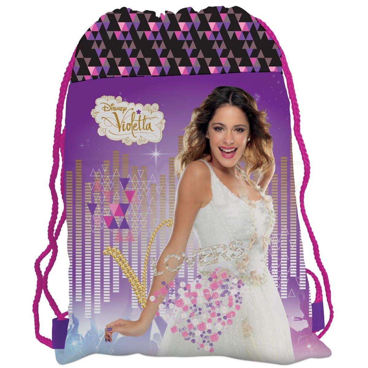 92a7e529d5f Karton P+P Disney Violetta Sáček na přezůvky