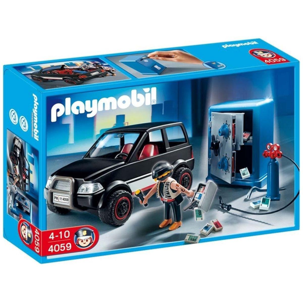 Kasař s autem Playmobil 4059