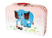 Kazeto Kufřík Krtek a slon 30cm