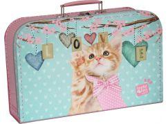 Kazeto Kufřík Kočička Ginger 35 cm