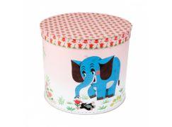 Kazeto Kulatá krabice Krtek a slon