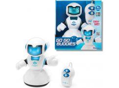 Keenway Robot na kabel s ovladáním - Bílo-modrý