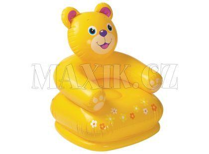 Křeslo nafukovací zvířátko 68556 - Medvěd