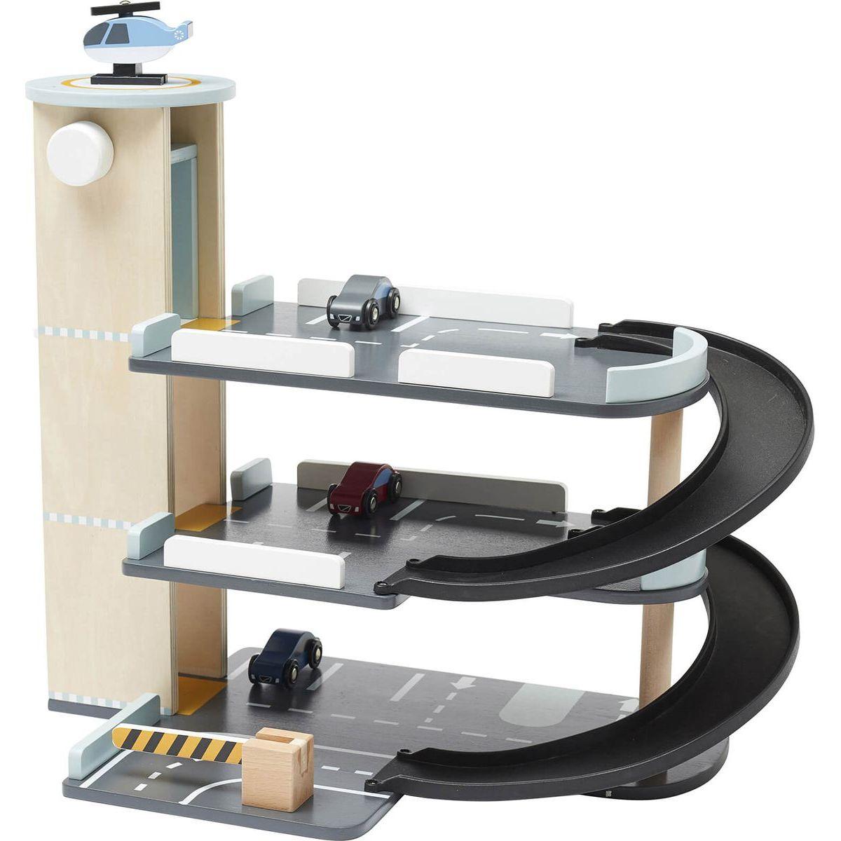 Kids Concept Parkoviště Aiden dřevěné
