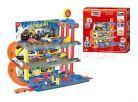 KidsHome Garáž 2 patra s dráhou a 6 aut 2