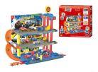 KidsHome Garáž 2 patra s dráhou a 6 aut - Poškozený obal 2
