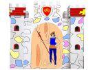 KidsHome Vymalovávácí hrad 86x86x80cm 2
