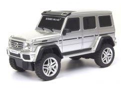 Kidztech RC auto Mercedes Benz G500 4x4 1:26 stříbrné