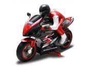 Kidztech RC závodní motorka červená