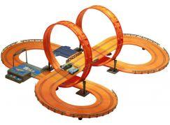 Kidztech Závodní dráha Hot Wheels 683 cm s adaptérem