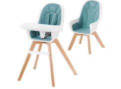 Kinderkraft Židlička jídelní 2v1 Tixi Turquoise