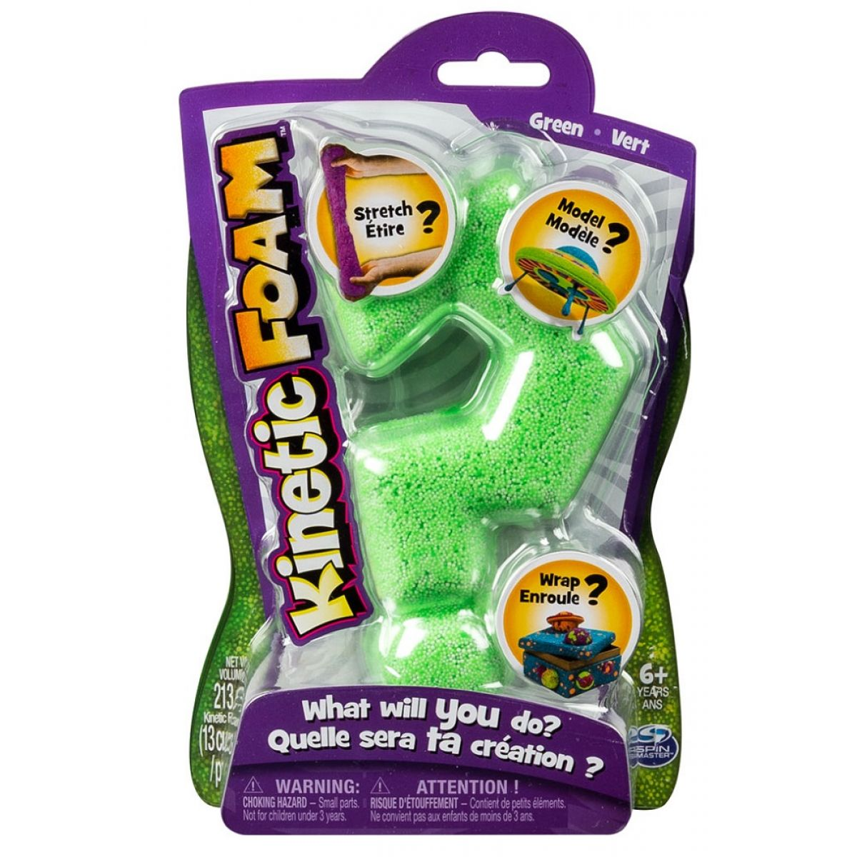 Kinetic Foam 1 barva - Zelená