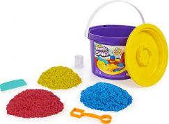 Kinetic Sand kyblík s náčiním a pískem
