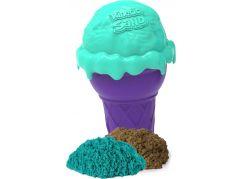 Kinetic Sand voňavé zmrzlinové kornouty zelený kopeček