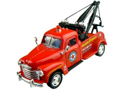 Kinsmart 1953 Chevrolet 3100 Wrecker - Červené