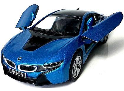 Kinsmart Auto BMW i8 - Modrá