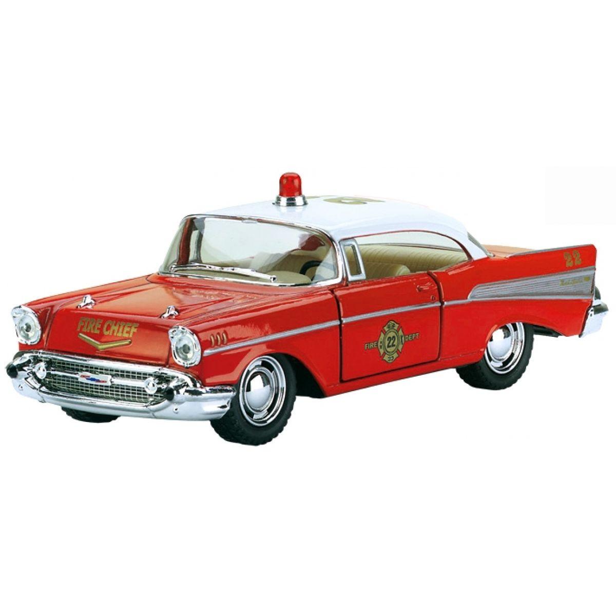 Kinsmart Auto Chevrolet 1957 Fire Chief