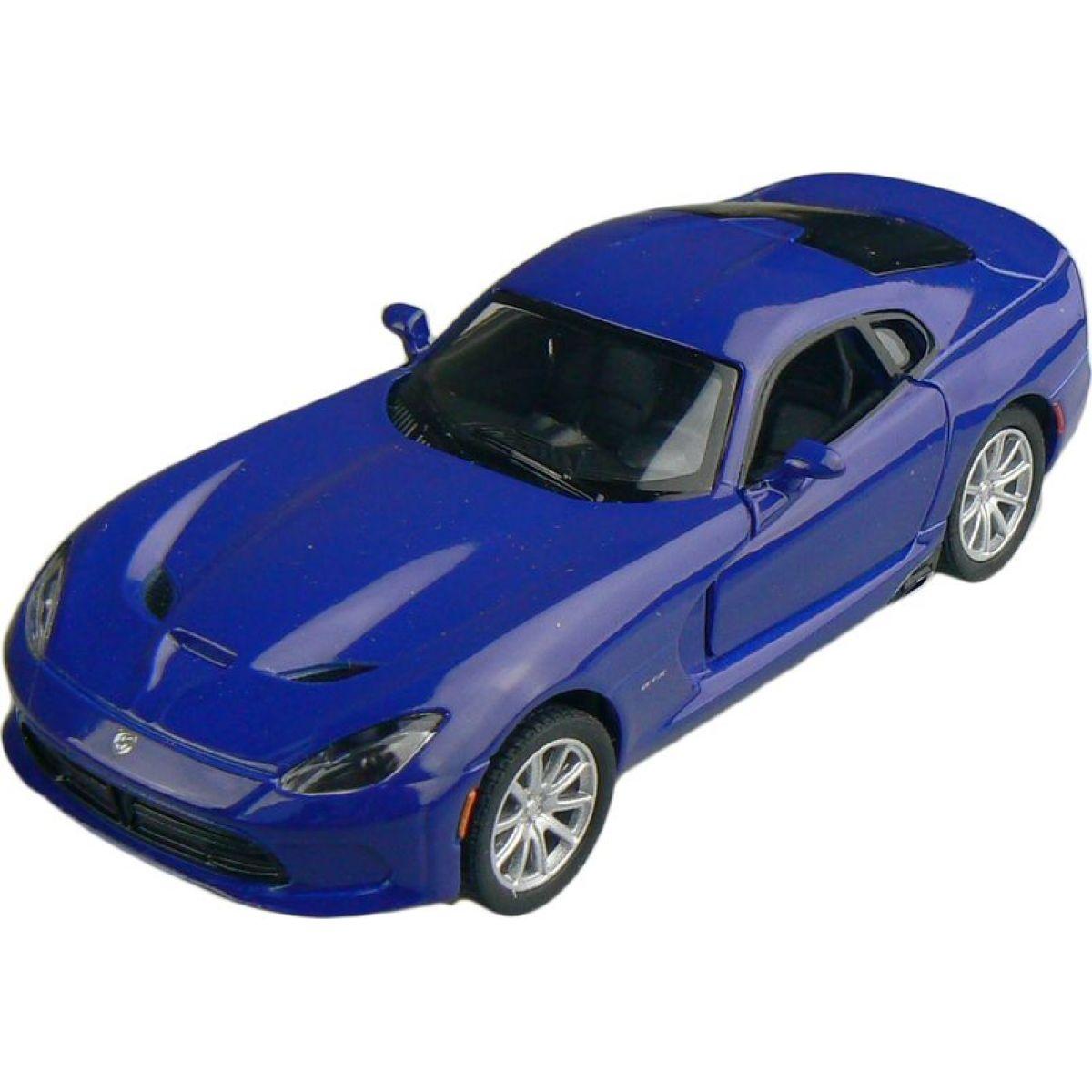 Kinsmart Auto Dodge Viper GTS 12cm - Modrá