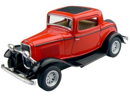 Kinsmart Auto Ford 3 Window Coupe 1932 - Červený