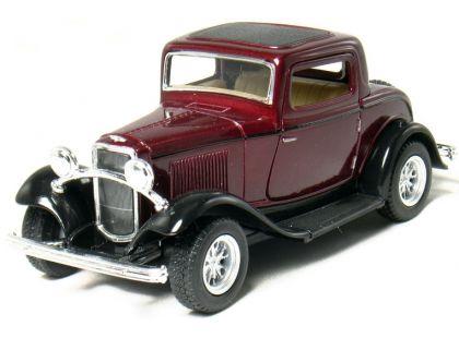 Kinsmart Auto Ford 3 Window Coupe 1932 - Vínový