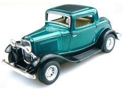 Kinsmart Auto Ford 3 Window Coupe 1932 - Zelený