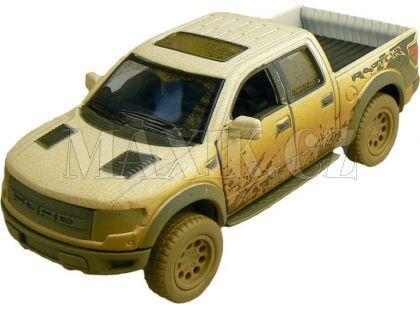 Kinsmart Auto Ford F-150 SVT Raptor 12cm - Bílá