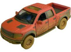 Kinsmart Auto Ford F-150 SVT Raptor 12cm - Červená