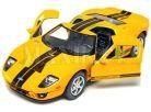 Kinsmart Auto Ford GT 2006 - Žluté 2